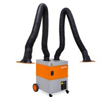 ProfiMaster Welding Smoke Filter Unit Two Exhaust Arms
